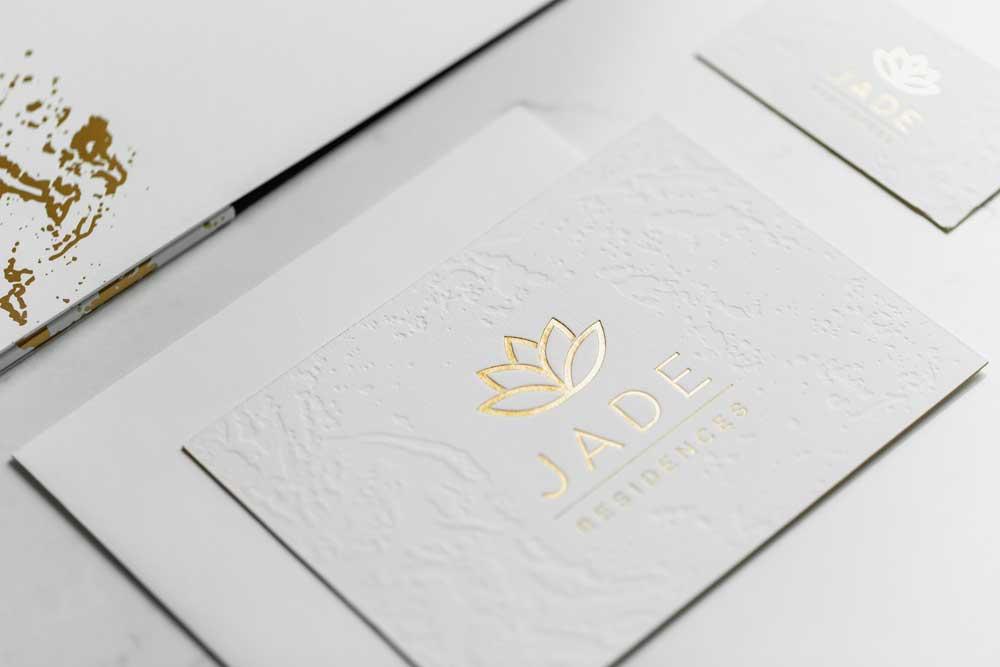 Custom Jade Residences Branding