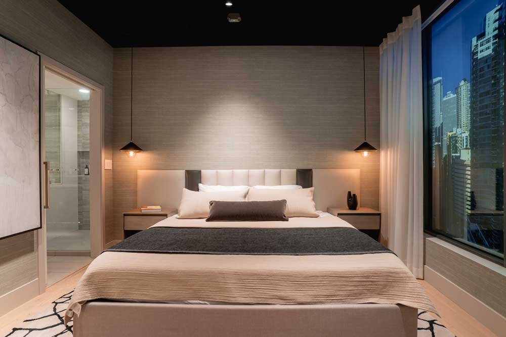 Spire Sales Center Bedroom