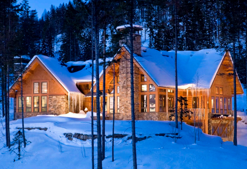 Destination Property: The Snow Ghost Chalet in Whitefish