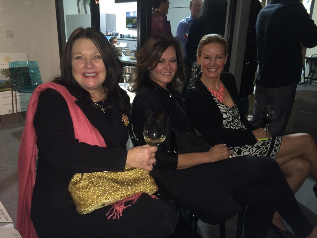 PICTURED ABOVE: RSIR brokers (left to right) Becky Gray, Carrie DeBuys and Alex Hayes take in the presentation.