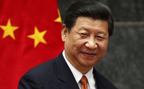 Above: Xi Jinping, President of the People's Republic of China