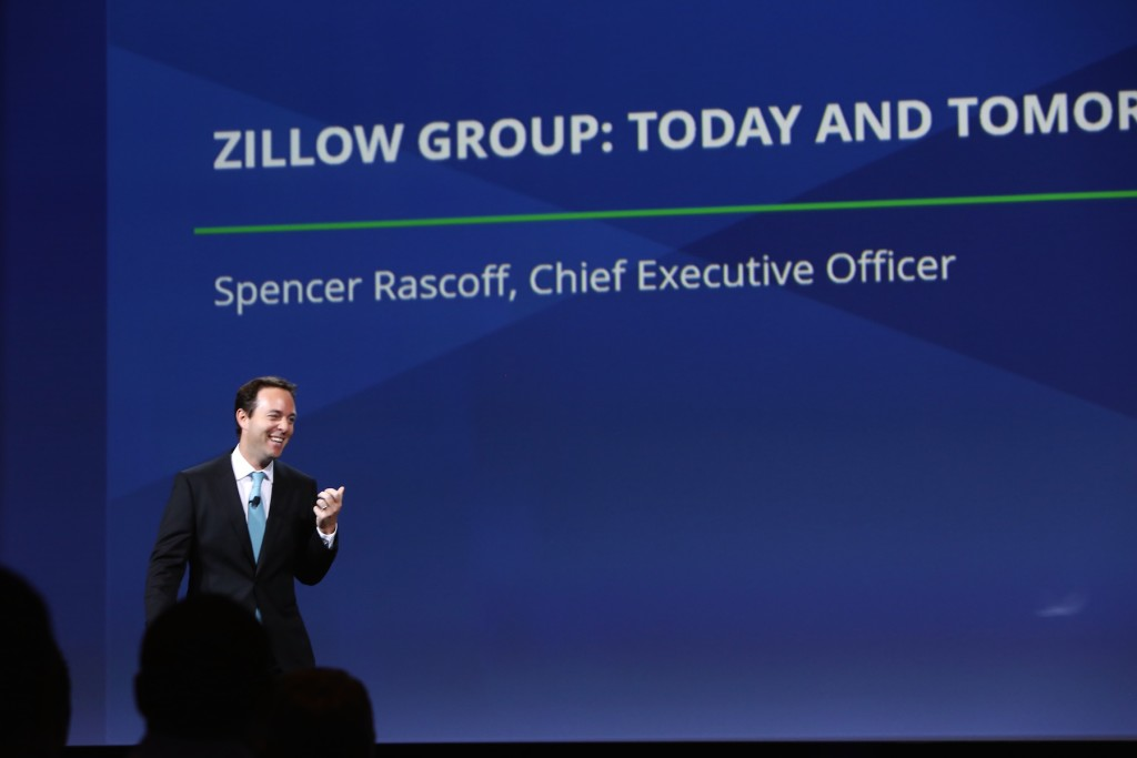 Above: Zillow Group CEO Spencer Rascoff speaks at the forum